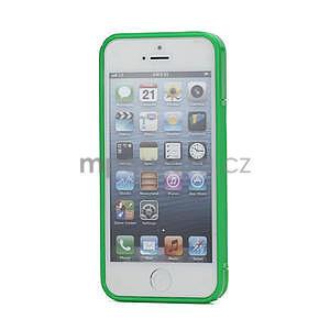 S-line hybrid puzdro pre iPhone 5, 5s- zelené - 2