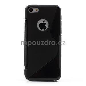 Gélové S-line puzdro pre iPhone 5C- čierné - 2