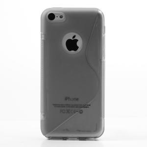 Gélové S-line puzdro pre iPhone 5C- šedé - 2