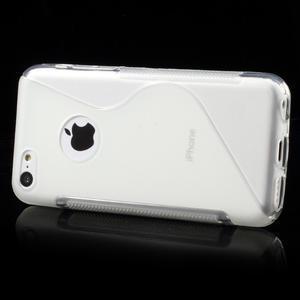 Gélové S-line puzdro pre iPhone 5C- transparentný - 2