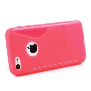 Gélové S-line puzdro pre iPhone 5C- růžové - 2