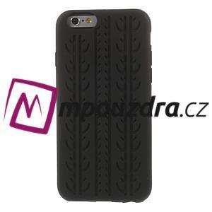 silikónové pneu na iPhone 6, 4.7 - čierné - 2