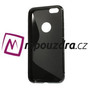 Gélové S-line puzdro na iPhone 6, 4.7 - čierné - 2