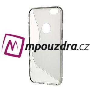 Gélové S-line puzdro na iPhone 6, 4.7 - šedé - 2