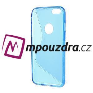 Gélové S-line puzdro pre iPhone 6, 4.7 - modré - 2