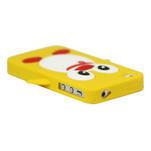 silikónový Tučniak na iPhone 4 4S - žltý - 2/3