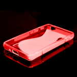 Gélové S-line  puzdro pre LG Optimus L5 II E460- červené - 2/5