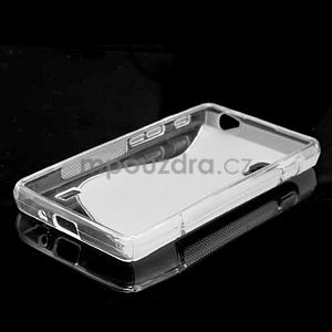 Gélové S-line  puzdro pre LG Optimus L5 II E460- transparentný - 2