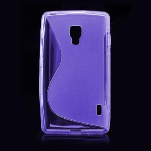 Gélové S-line puzdro pre LG Optimus L7 II P710- fialové - 2