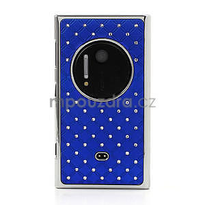 Drahokamové puzdro pre Nokia Lumia 1020- modré - 2