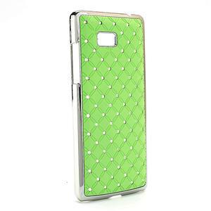 Drahokamové puzdro pre HTC Desire 600- zelené - 2
