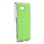 Drahokamové puzdro pre HTC Desire 600- zelené - 2/5