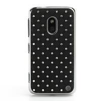 Drahokamové puzdro na Nokia Lumia 620- čierné - 2/6