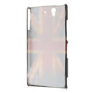 Plastové puzdro pre Sony Xperia Z L36i C6603- UK vlajka - 2