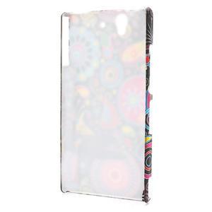 Plastové puzdro na Sony Xperia Z L36i C6603- farebné vzory - 2