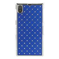 Drahokamovej puzdro pre Sony Xperia Z1 C6903 L39- modré - 2/4