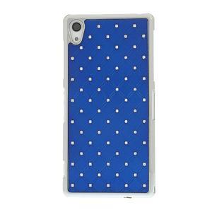 Drahokamovej puzdro pre Sony Xperia Z2 D6503- modré - 2