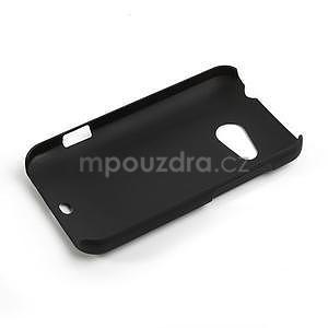 Pogumované puzdro pre HTC Desire 200- čierné - 2