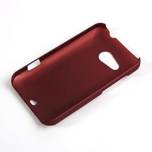 Pogumované puzdro pre HTC Desire 200- červené - 2