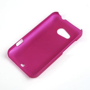 Pogumované puzdro pre HTC Desire 200- růžové - 2