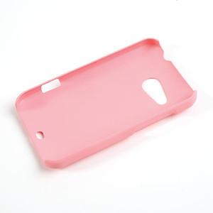 Pogumované puzdro pre HTC Desire 200- svetloružové - 2