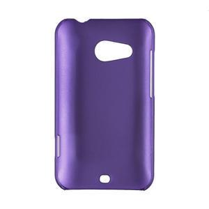 Pogumované puzdro pre HTC Desire 200-fialové - 2