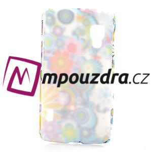 Plastové puzdro pre LG Optimus L5 Dual E455- krásné květiny - 2