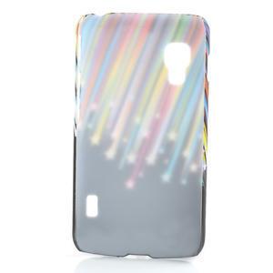 Plastové puzdro pre LG Optimus L5 Dual E455- meteor farebný - 2
