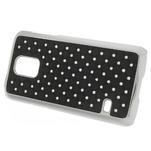 Drahokamové puzdro pre Samsung Galaxy S5 mini G-800- čierne - 2/5