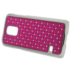 Drahokamové pouzdro na Samsung Galaxy S5 mini G-800- růžové - 2
