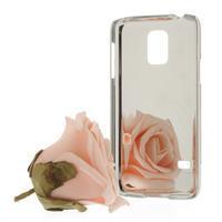Drahokamové puzdro pre Samsung Galaxy S5 mini G-800- fialové - 2/3