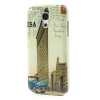 Plastové pouzdro na Samsung Galaxy S4 mini i9190- USA budova - 2/6