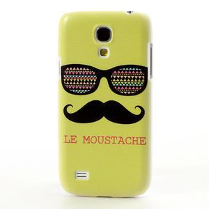 Plastové pouzdro na Samsung Galaxy S4 mini i9190- Le moustache - 2