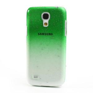 Plastové minerálné puzdro pre Samsung Galaxy S4 mini i9190- zelené - 2