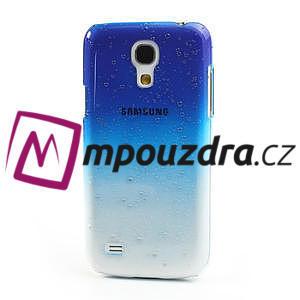 Plastové minerálné puzdro pre Samsung Galaxy S4 mini i9190- modré - 2