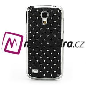 Drahokamové puzdro pro Samsung Galaxy S4 mini i9190- čierne - 2