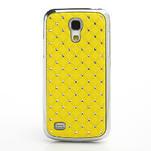 Drahokamové pouzdro pro Samsung Galaxy S4 mini i9190- žluté - 2/5