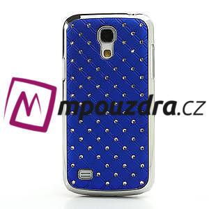 Drahokamové pouzdro pro Samsung Galaxy S4 mini i9190- modré - 2