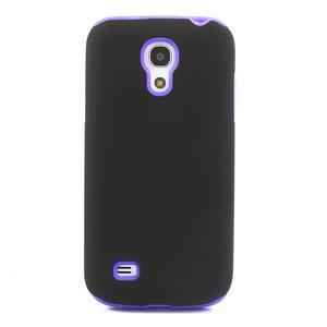 Hybridné puzdro pre Samsung Galaxy S4 mini i9190- fialové - 2