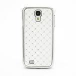 Drahokamové pouzdro pro Samsung Galaxy S4 i9500- bílé - 2/7