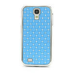 Drahokamové puzdro pro Samsung Galaxy S4 i9500- svetlo-modré - 2/7