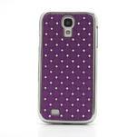 Drahokamové pouzdro pro Samsung Galaxy S4 i9500- fialové - 2/7