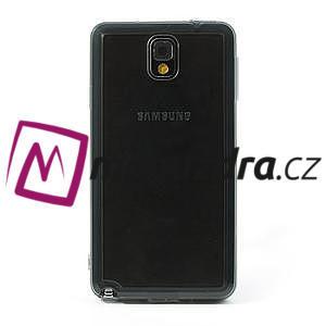 Gélové hybrid puzdro na Samsung Galaxy Note 3- šedé - 2