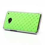 Drahokamové puzdro pre HTC one M7- zelené - 2/7