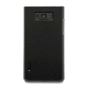 Texturované puzdro pre LG Optimus L7 P700- čierné - 2