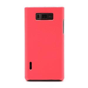 Texturované puzdro pre LG Optimus L7 P700- ružové - 2