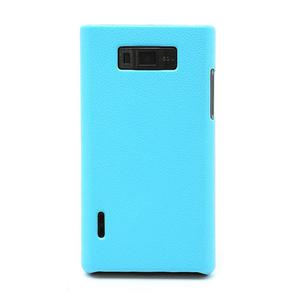 Texturované puzdro pre LG Optimus L7 P700- modré - 2