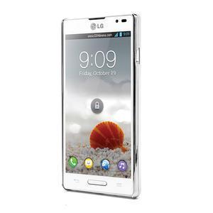 Drahokamové puzdro pre LG Optimus L9 P760- svetleružové - 2