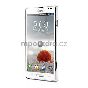 Drahokamové puzdro pre LG Optimus L9 P760- svetlo modré - 2