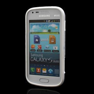 Plastogélové puzdro na Samsung Galaxy Trend, Duos- čierné - 2